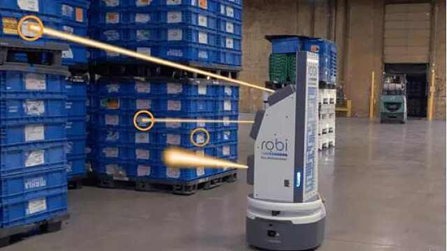 美国自创全自动库存盘点管理机器人