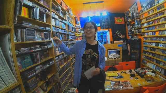它在北京为数不多的唱片店中存活了