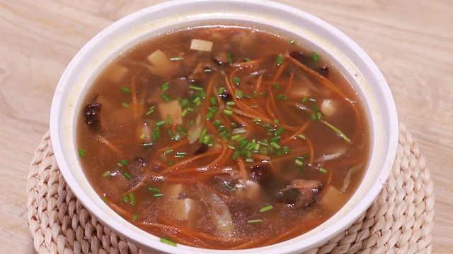 用豆腐做汤,做出来营养又美味
