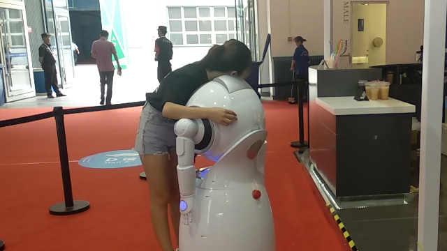 2018世界机器人大会中那些人机互动