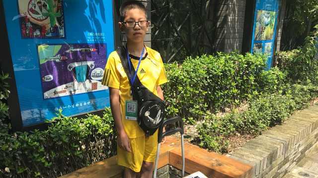 12岁男孩暑假卖冰棍:卖不完自己吃