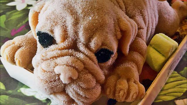 台湾餐厅制作狗狗冰淇淋你舍得吃吗