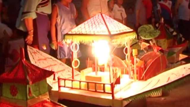 中元节放河灯,600年习俗传承至今