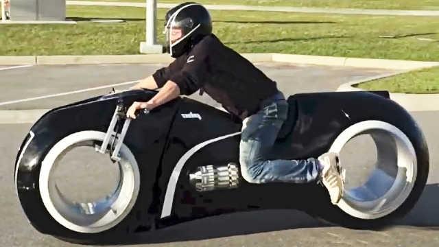 5个拥有科幻外形的摩托车