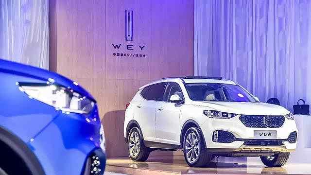 WEY旗下全新智能豪华SUV VV6上市