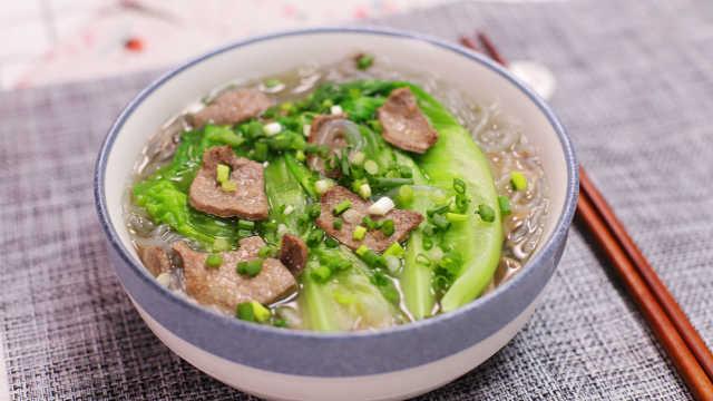 猪肝粉丝煲,一碗下肚回味良久!