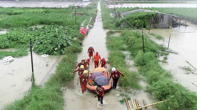 暴雨致棚户区严重受灾,57人被转移
