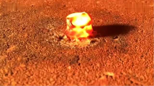 把磁铁烧融化,接下来会发生什么?