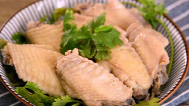 客家特产盐焗鸡翅的制作方法