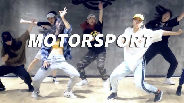 运动范YOGA《MOTORSPORT》编舞