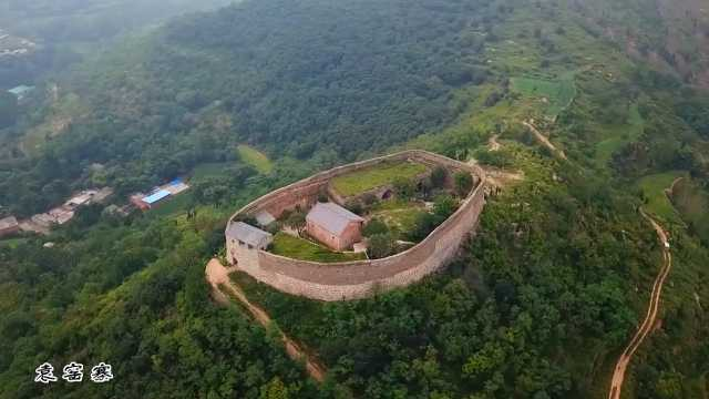 建在山顶上的百年古寨:袁窑南寨