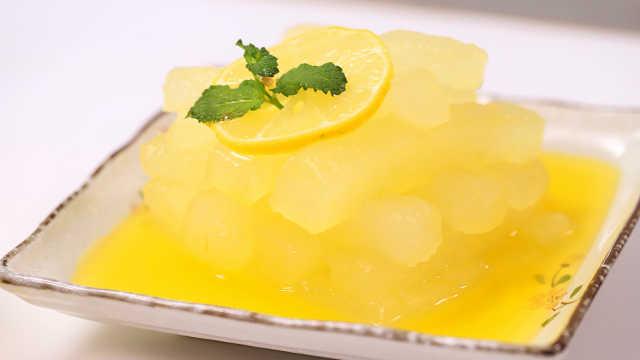 分分钟搞定自制橙汁冬瓜!
