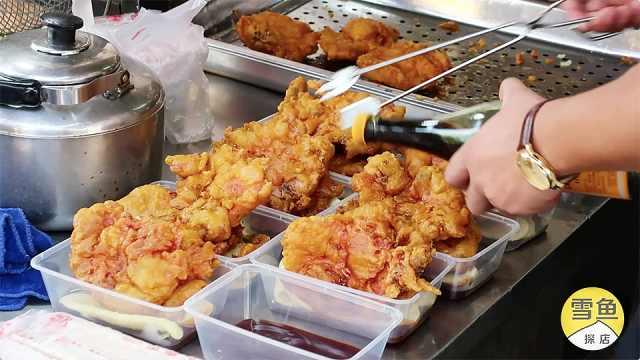 上海特色小吃,15元还给送一个猪排