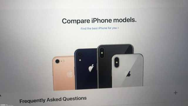 """iPhone 9中国官网""""上线"""""""