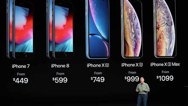 苹果发布史上最贵iphone最高12799