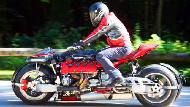 如此酷炫的四轮摩托车,你见过吗?