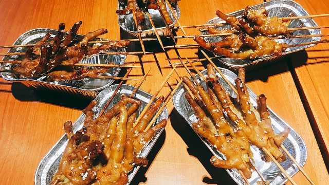 被圈粉的阿芮烤鸡爪,超Q超软糯!