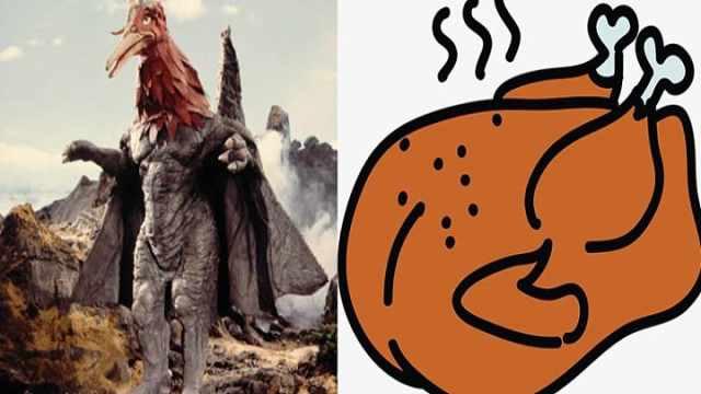 这些怪兽简直就是美食,看着就想吃