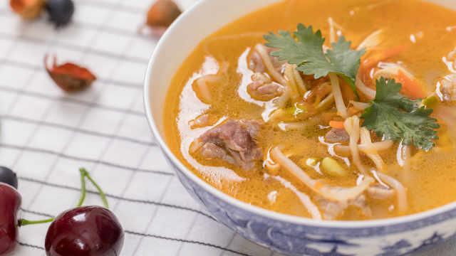 秋日鲜美的三宝排骨汤,胃暖到心!