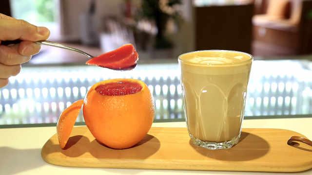 """橙子果冻:""""最是橙黄橘绿时"""""""