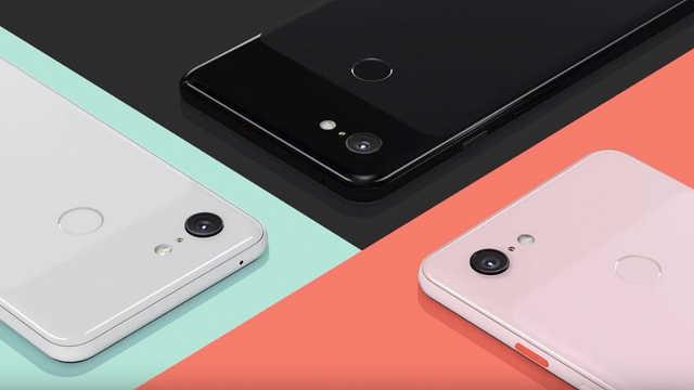 谷歌Pixel3/3XL正式发布