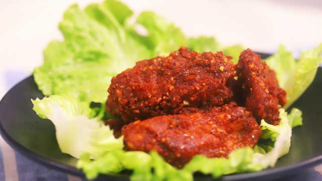 超诱人的韩式甜辣炸鸡,在家轻松做
