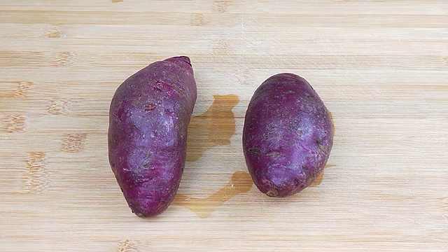 紫薯这样做,实在太好吃了