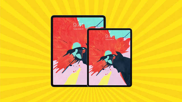全面屏iPad Pro发布上市