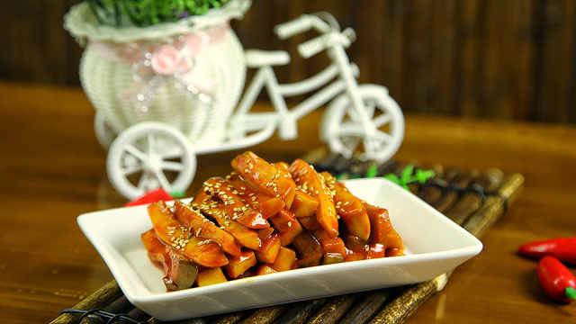 朝族媳妇秘制:酱杏鲍菇