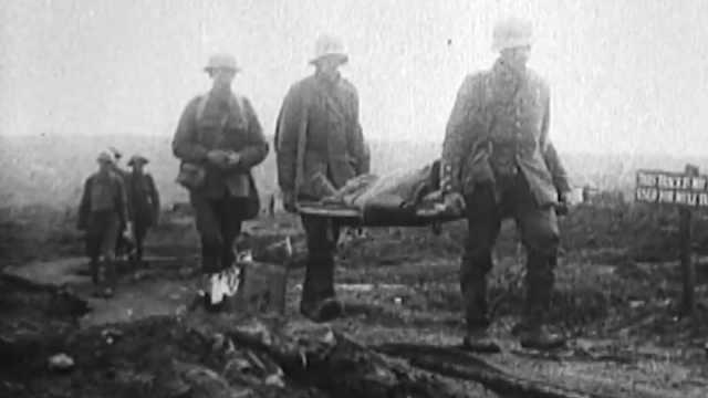 一战历史纪实:英法德战壕里的生活