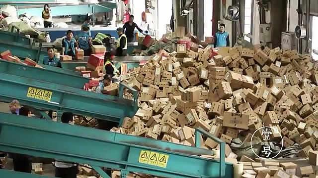 双十一,福州,2574万件包裹!