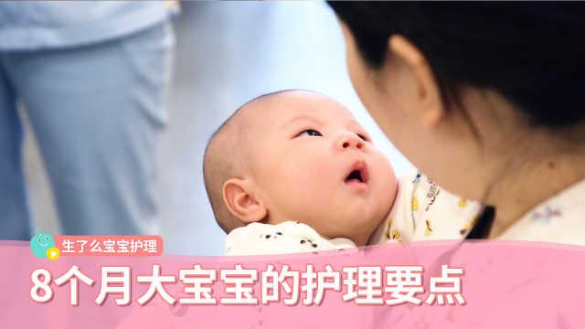 8个月大宝宝的护理要点