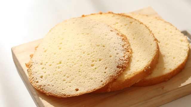 烘焙新手之基础版海绵蛋糕
