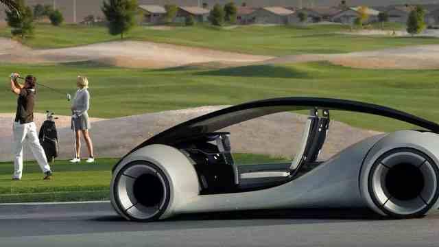 苹果自动驾驶汽车的前世今生