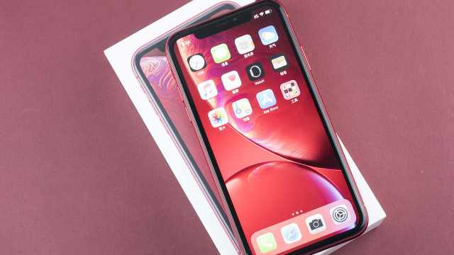 苹果iPhoneXR红色特别版开箱