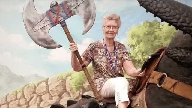 网友为82岁老奶奶的游戏愿望而请愿