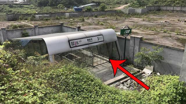 曹家湾站,最神秘的地铁站