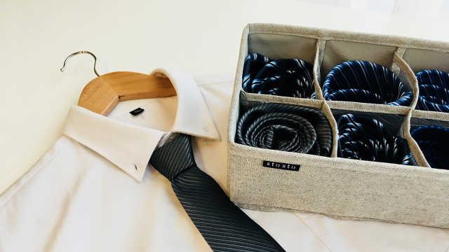 超简单的领带系法
