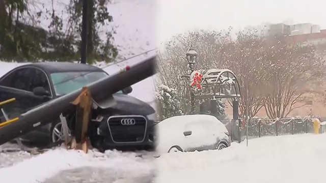美国南部夺命暴风雪已致4人死亡