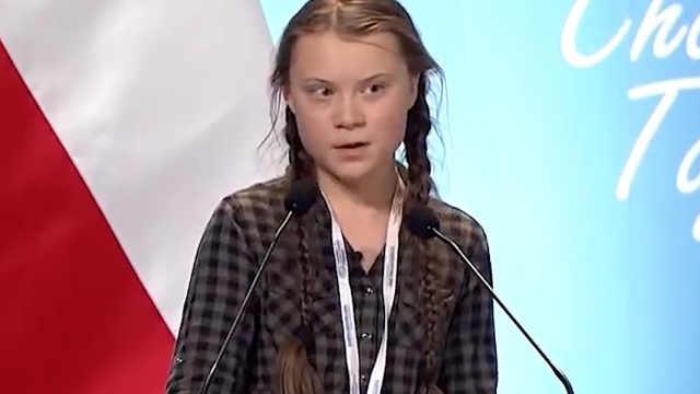 瑞典女孩怒斥各国代表:你们不成熟