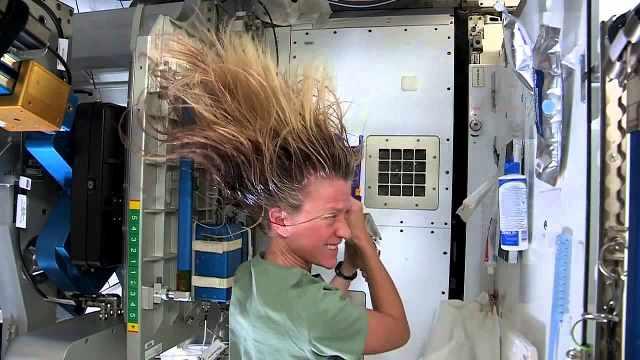 宇航员们在太空中是如何生活的?
