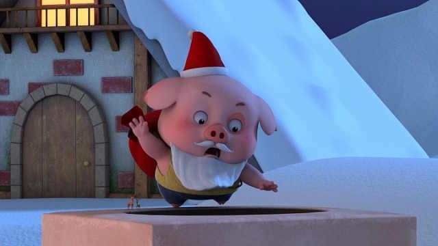 请注意,今晚豆豆猪可能降落在你家