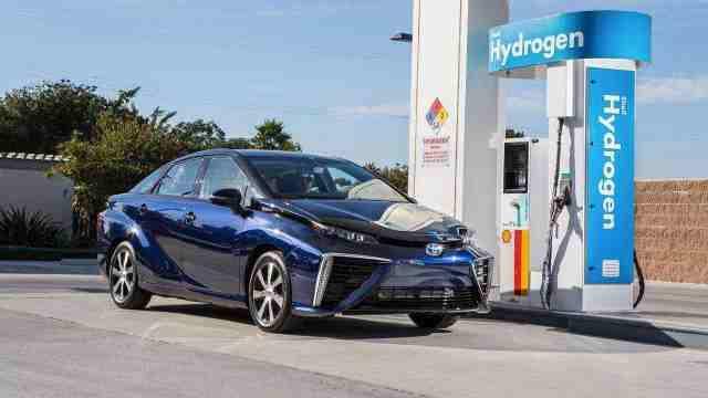 号称零油耗的氢动力汽车