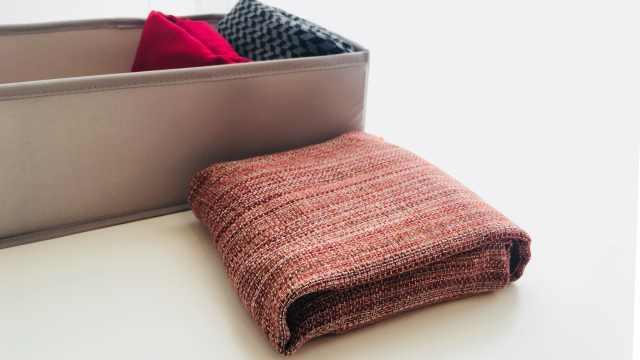 围巾的叠法和系法