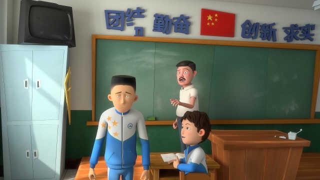 上课发呆被同学坑,老师都傻眼了