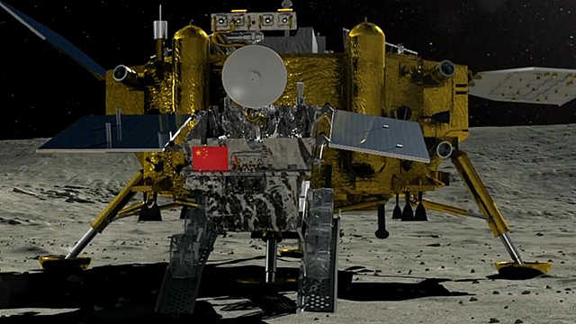 降落月之暗面!嫦娥四号真厉害!
