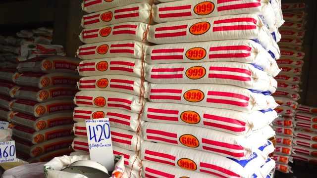 行走在泰国街头,看看泰国香米