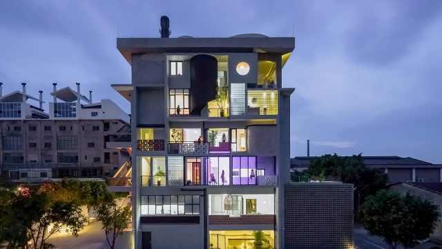 广州6个好友改造一栋楼同居
