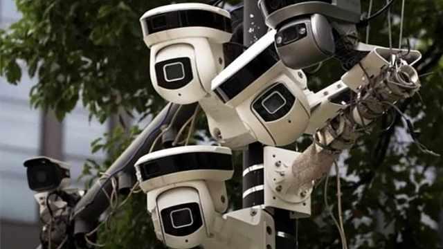 厉害的中国天网系统