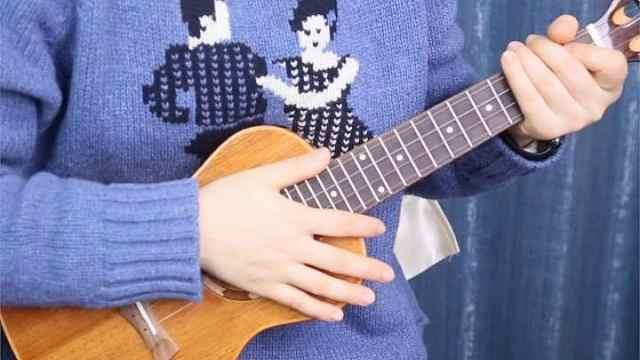 《假装》陈雪凝,尤克里里弹唱教学